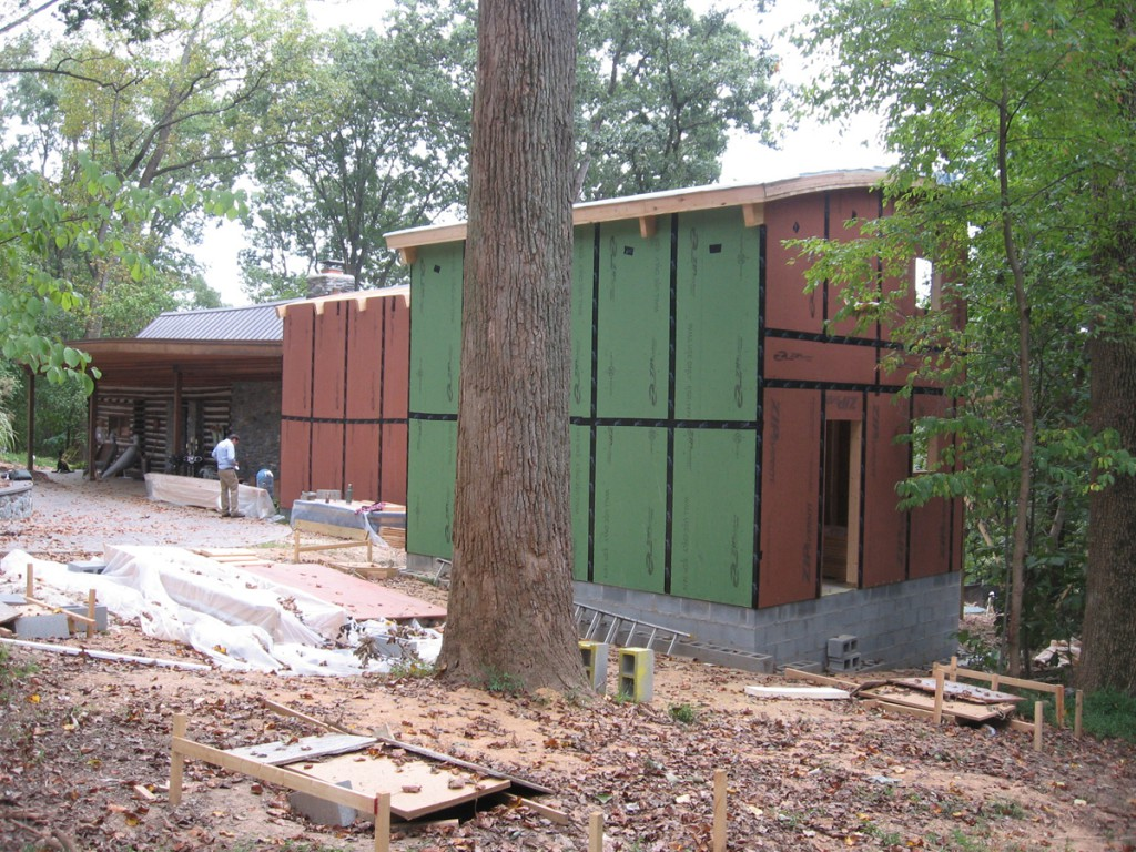 Before picture of cabins