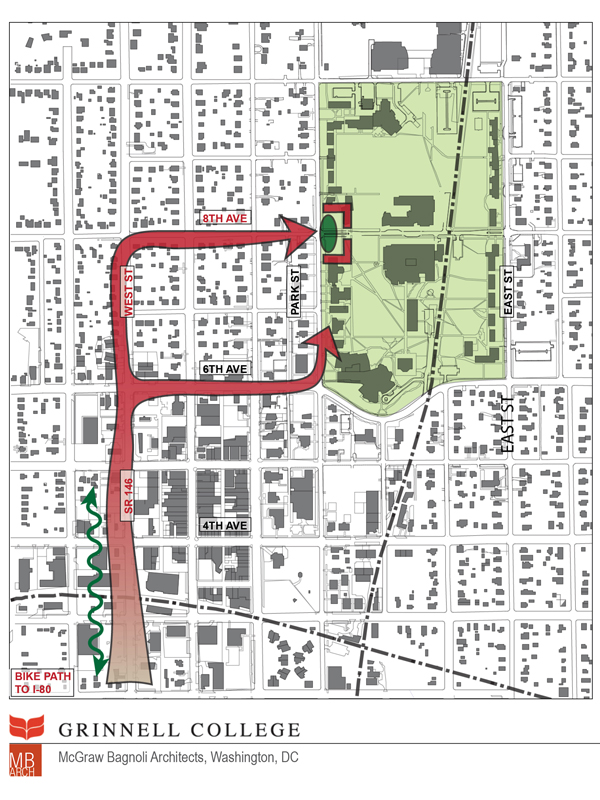 Grinnell College Town Gown Plan Studiomb